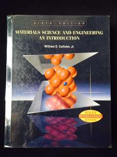 Materials Science and Engineering: An Introduction (6th Edition)