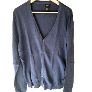 H&M Cardigan - Navy