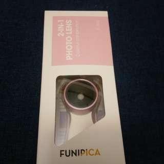FUNIPICA F515 超廣角+微距 外接自拍鏡頭