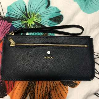 Mimco currency pouch (navy)