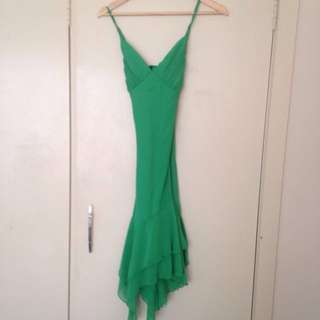 NEW YORK Lime Salsa Dress (small)