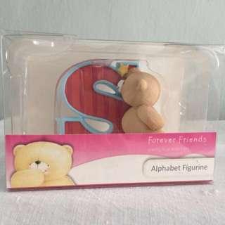 Forever Friends Alphabet Figurine (Letter S)