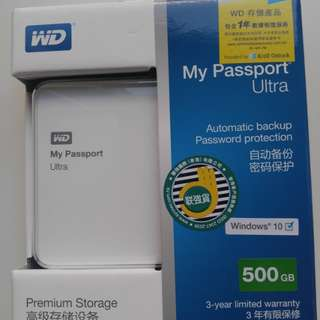 WD my password 3.0 / 500gb(不二價)
