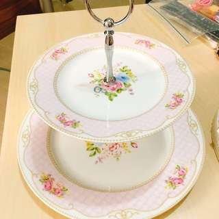 粉紅玫瑰花下午茶 tea set