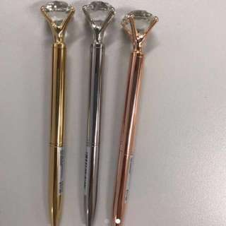 Crystal top pen