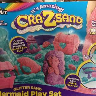 Original Cra-z-Sand Glittersand Mermaid Set