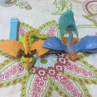 How to Train Your Dragon and Penguin (Batman) Happy Meal