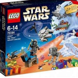 Lego Star Wars Advent Calendar 2017 75184 BNIB