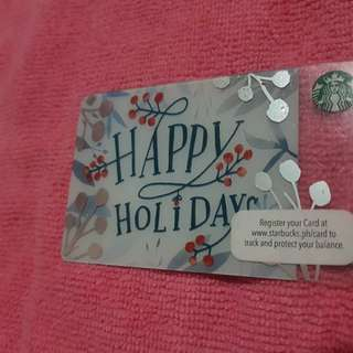Starbucks Card Collection 2016