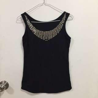 Black top size S-M