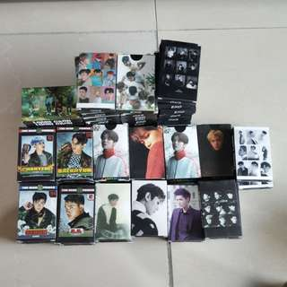 EXO ~ GROUP AND MEMBERS LOMO ~ READY STOCK