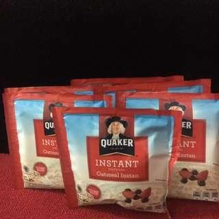 Quaker oatmeal instan