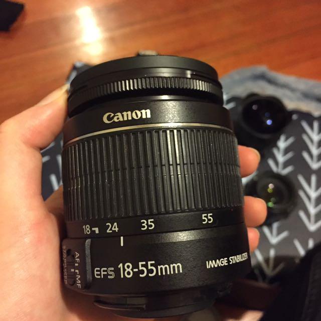 18-55mm canon camera lens