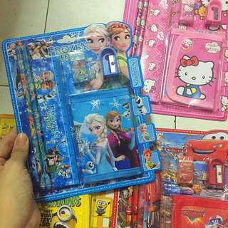 INSTOCK!! Children day gift set (wallet with stationery set)