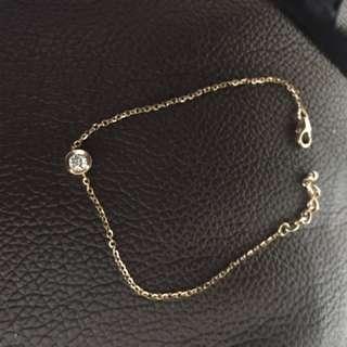 MaBelle Leo Diamond 鑽石手鏈