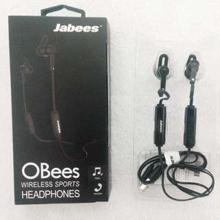 Jabees OBees Wireless Sports Headphones