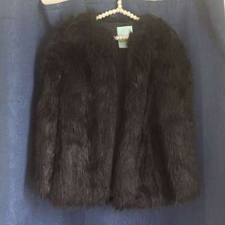 Designer Duchess Faux Fur Coat Jacket