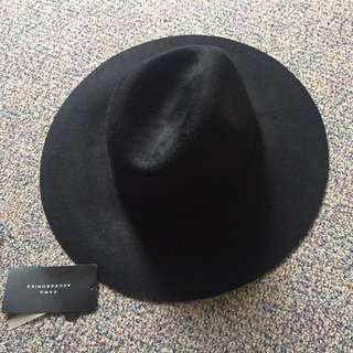 New Zara Wool Fedora Hat
