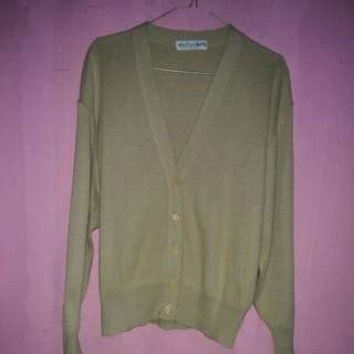 Cardigan mocca size L