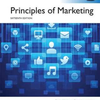 Principles of marketing global edition pearson