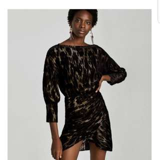 Zara shiny dress. Size small