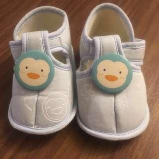 卡通企鵝學步鞋