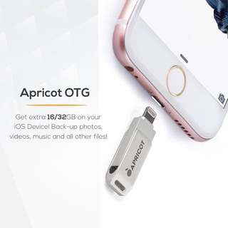 Apricon OTG (USB for iPhone, iPad, etc.)