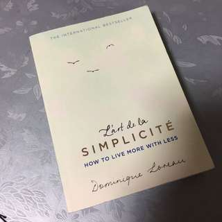 SIMPLICITE - how to live more with less