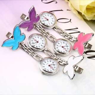 *PRE-ORDER nurses clip watch