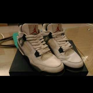 Air Jordan 4 retro可議