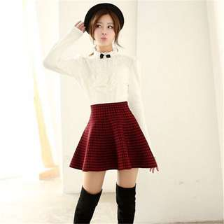 COTTON ON Houndstooth Skirt