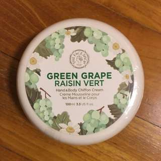 The Face Shop Green Grape Hand & Body Chiffon Cream