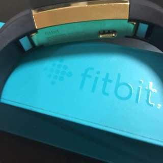 Fitbit Alta Gold Fitness Tracker Black