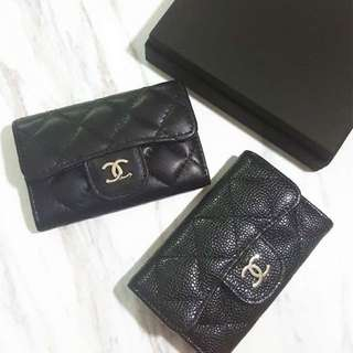 Chanel Mini Card And Money Holder