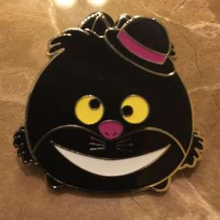 Disney Pin 迪士尼徽章襟章 萬聖節 妙妙貓 Halloween Cheshire Cat