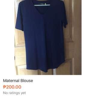 Woman Maternal Blouse