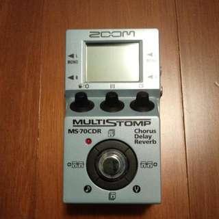 Zoom Multi Stomp MS-70 CDR