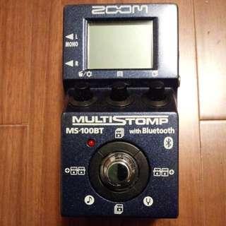 Zoom MultiStomp MS-100BT
