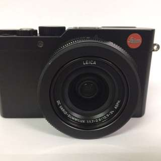 Leica D-Lux Typ 109 with Freebies
