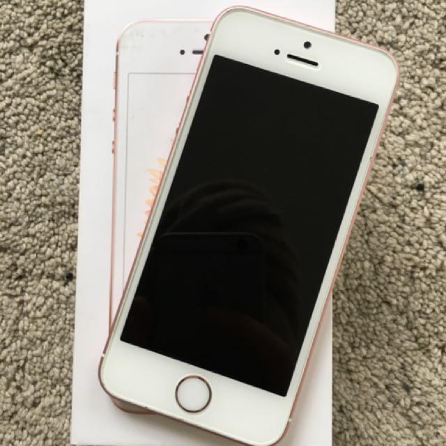 64GB Rose Gold IPhone SE