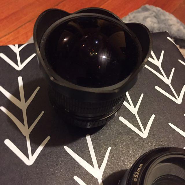 8mm fish eye camera lens Rokinon