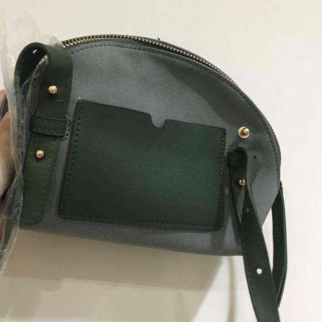 全新綠色小包