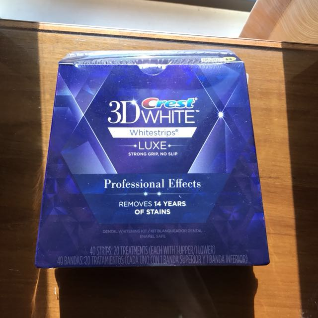香港購入 3D crest專業強效牙齒美白貼片 長期代購