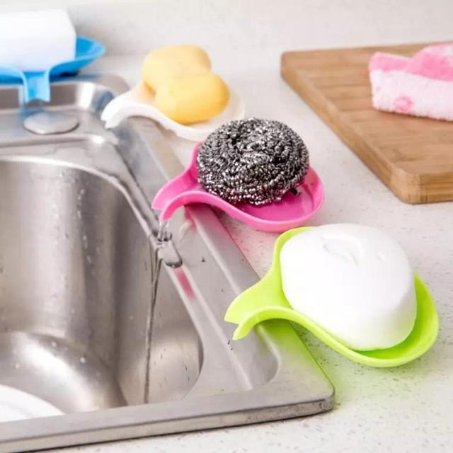 居家簡約 瀝水肥皂盒 浴室洗臉香皂盒 創意厨房香皂架手工皂皂托