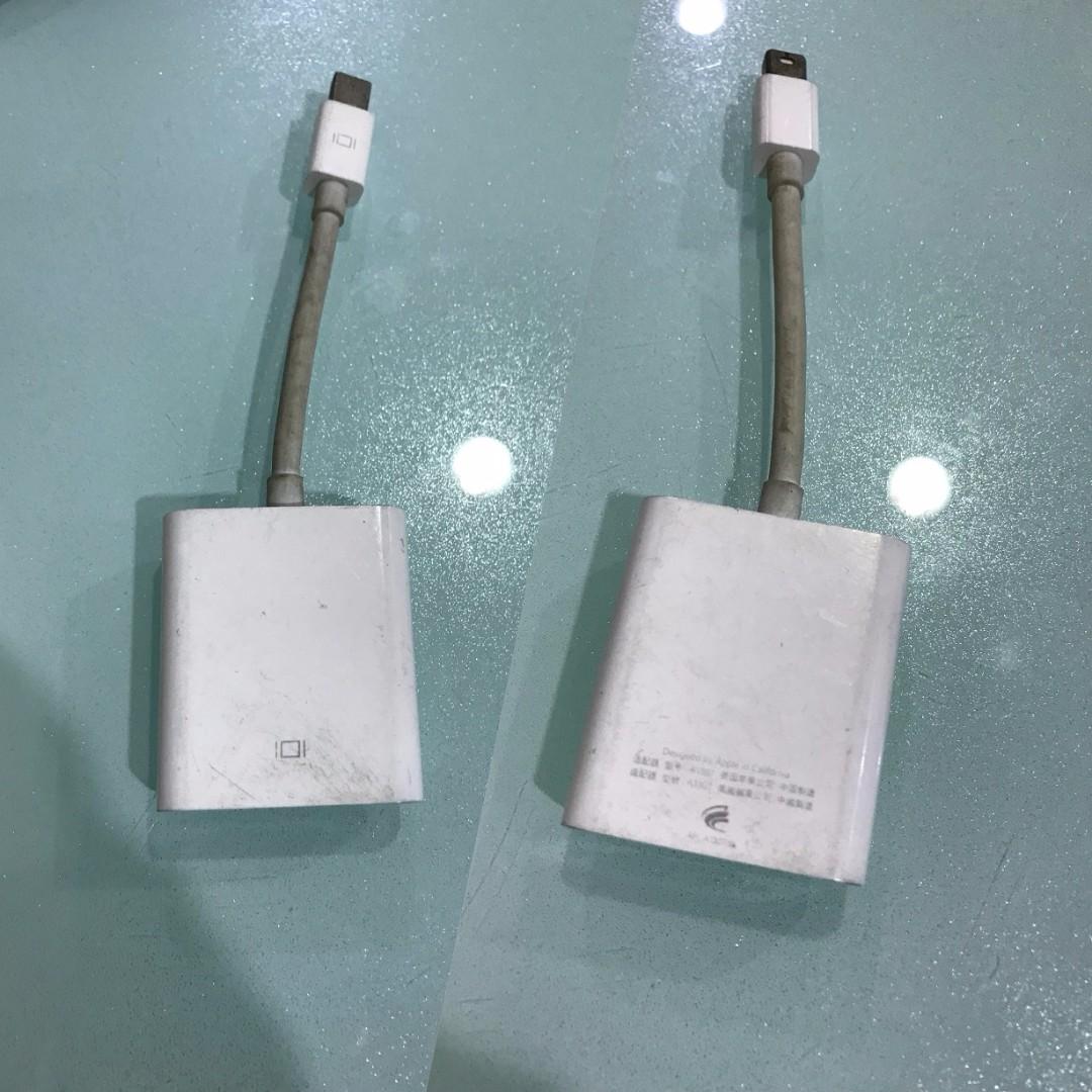 我最便宜 APPLE  Mini DisplayPort 轉 VGA 轉換器