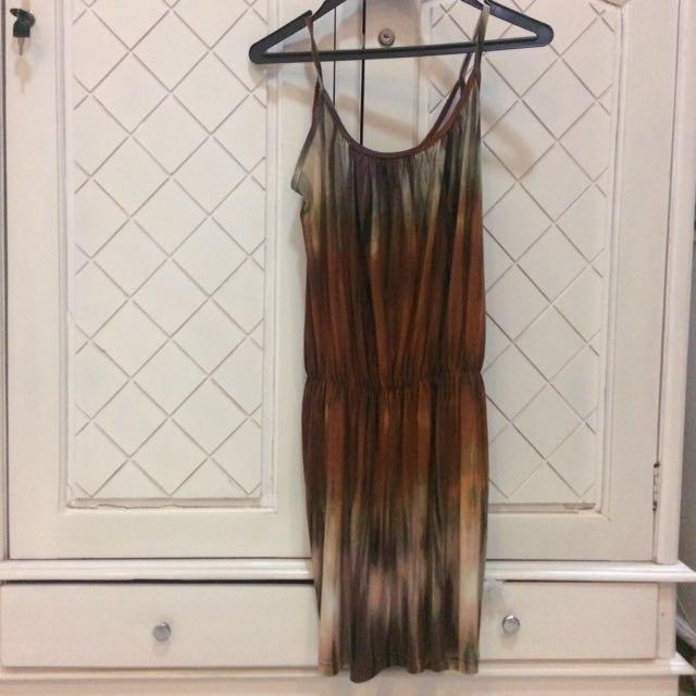 Abstract Summer Dress by Luna Maya for Hardware #prelovedkusayang