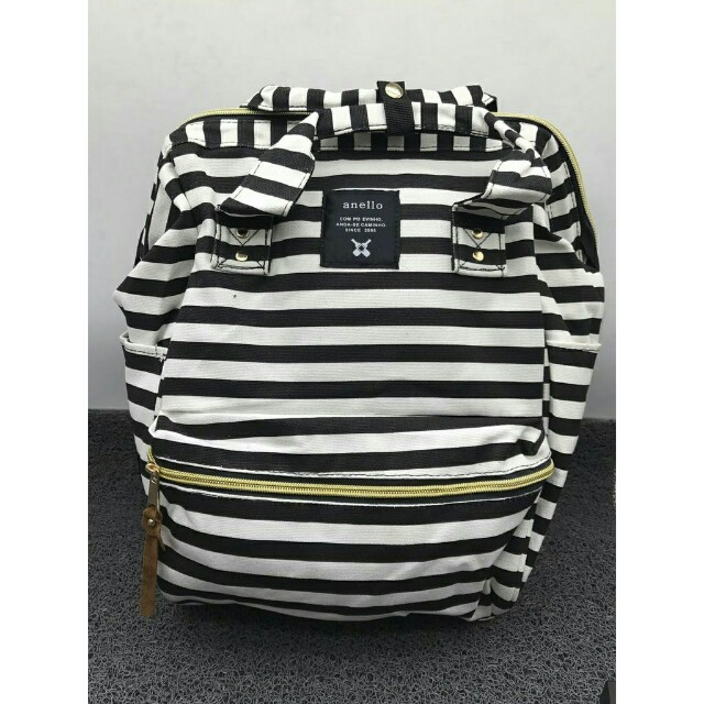 Anello Striped Backpack 🎒