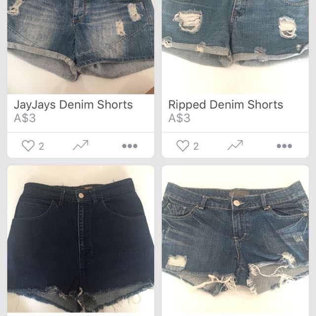 Any 3 shorts for $10!