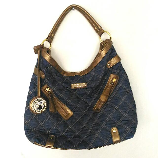 SALE! Apple Bottoms Big Denim Bag