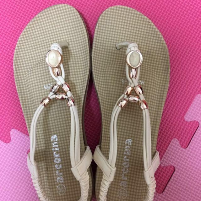 專櫃女鞋arcorina 氣墊涼鞋